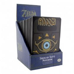 LEGEND OF ZELDA, THE -  CARNET DE NOTES SHEIKAH SLATE -  BREATH OF THE WILD