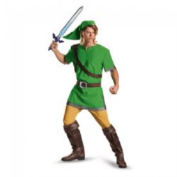 LEGEND OF ZELDA, THE -  COSTUME DE LUXE DE LINK (ADULTE)
