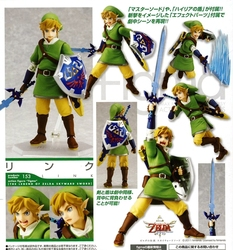 LEGEND OF ZELDA, THE -  FIGURINE FIGMA ARTICULÉE DE LINK (14 CM) -  SKYWARD SWORD 153