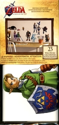 LEGEND OF ZELDA, THE -  OCARINA DU TEMPS - 23 AUTOCOLLANTS MURAL