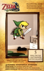 LEGEND OF ZELDA, THE -  SPIRIT TRACKS - AUTOCOLLANT MURAL