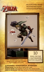 LEGEND OF ZELDA, THE -  TWILIGHT PRINCESS - AUTOCOLLANT MURAL