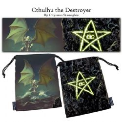 LEGENDARY DICE BAGS -  CTHULHU THE DESTROYER