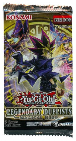 LEGENDARY DUELISTS -  MAGICAL HERO BOOSTER PACK (P5/B36)