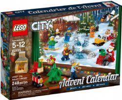 LEGO CITY -  CALENDRIER DE L'AVENT (313 PIÈCES) 60201