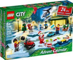 LEGO CITY -  CALENDRIER DE L'AVENT (342 PIÈCES) 60268