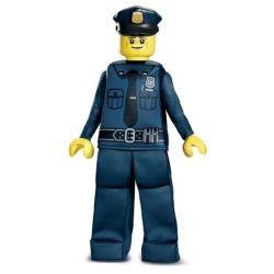 LEGO -  COSTUME PRESTIGE D'OFFICIER DE POLICE (ENFANT - MOYEN 7-8)