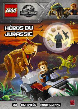 LEGO -  HÉROS DU JURASSIC -  JURASSIC WORLD