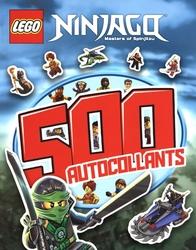 LEGO -  MASTERS OF SPINJITZU - 500 AUTOCOLLANTS -  LEGO NINJAGO