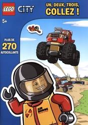 LEGO -  UN, DEUX, TROIS COLLEZ ! - AUTOCOLLANTS -  LEGO CITY