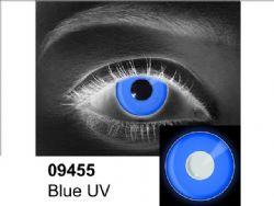 LENTILLES CORNEENNES THEATRALES -  BLEU UV - BLEU (90 JOURS) 09.455