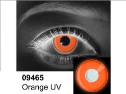 LENTILLES CORNEENNES THEATRALES -  ORANGE UV - ORANGE (90 JOURS) 09.465