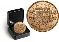LES PREMIERES PIECES D'OR CANADIENNES -  PIÈCE DE 10 DOLLARS EN OR 1914 SÉLECTIONNÉE INDIVIDUELLEMENT -  PIÈCES DU CANADA 1914