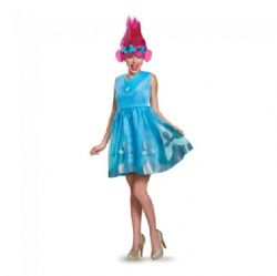 LES TROLLS -  COSTUME DE POPPY (ADULTE)