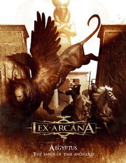LEX ARCANA -  AEGYPTUS: THE SANDS OF TIME AND GOLD (ANGLAIS)