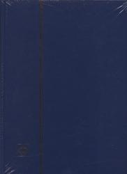 LIGHTHOUSE -  CLASSEUR BLEU 16 FEUILLES (32 PAGES BLANCHES)
