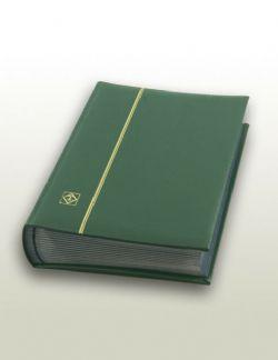 LIGHTHOUSE -  CLASSEUR EN CUIR VERT 32 FEUILLES (64 PAGES NOIRES)