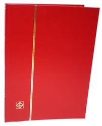 LIGHTHOUSE -  CLASSEUR ROUGE 16 FEUILLES (32 PAGES BLANCHES)