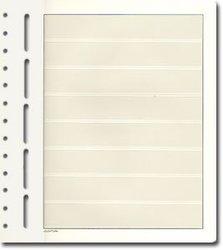 LIGHTHOUSE -  FEUILLE DE CLASSEMENT LB8 POUR ALBUM LIGHTHOUSE (PAQUET DE 10)