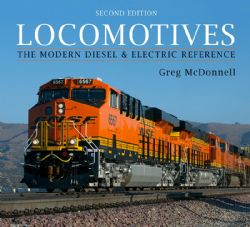 LOCOMOTIVES -  THE MODERN DIESEL AND ELECTRIC REFERENCE
