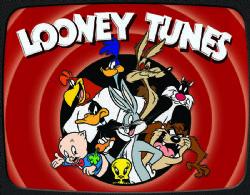 LOONEY TUNES -  AFFICHE EN MÉTAL