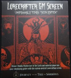 LORECRAFTER GM SCREEN -  UNSPEAKABLE TOMES