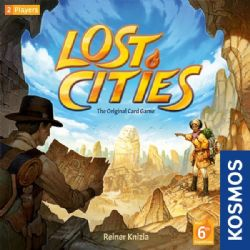LOST CITIES -  JEU DE BASE (ANGLAIS)