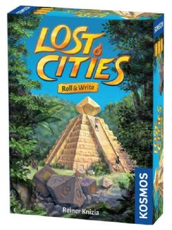 LOST CITIES -  ROLL & WRITE (ANGLAIS)