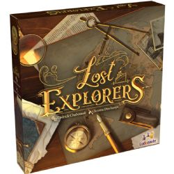 LOST EXPLORERS (ANGLAIS)
