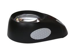 LOUPES MAIN-LIBRE -  LOUPE BULLAUGE AVEC LED (5X)