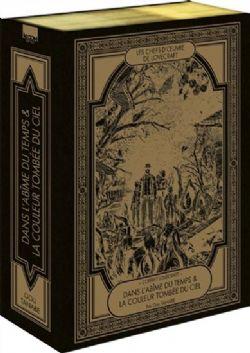 LOVECRAFT -  COFFRET EN 2 VOLUMES - DANS L'ABÎME DU TEMPS ; LA COULEUR TOMBÉE DU CIEL (TOMES 01 À 02) (V.F.) -  LES CHEFS-D'OEUVRE DE LOVECRAFT