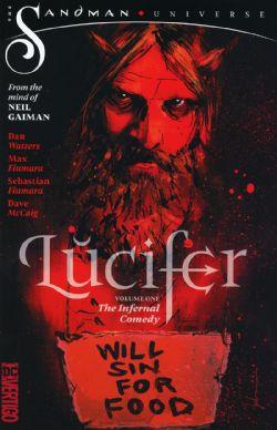 LUCIFER -  THE INFERNAL COMEDY -  THE SANDMAN UNIVERSE 01