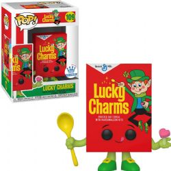 LUCKY CHARMS -  FIGURINE POP! EN VINYLE DE LA BOITE DE CÉRÉALES LUCKY CHARMS (10 CM) 109