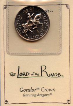 Le Seigneur Des Anneaux -  Piece du Gondor representant Aragorn