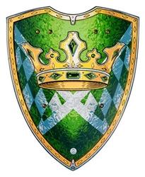 MÉDIÉVALE -  BOUCLIER - FAISEUR DE ROI (43 CM) (ENFANT) -  CHEVALIERS 29201