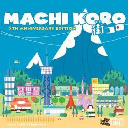 MACHI KORO -  EXPANSIONS (ANGLAIS) -  5TH ANNIVERSARY EDITION