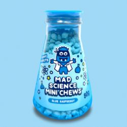 MAD SCIENCE -  MINI PÂTE À MÂCHER - FRAMBOISE BLEU