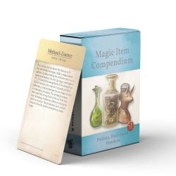 MAGIC ITEMS COMPENDIUM -  POTIONS, POULTICES & POWDERS (ANGLAIS)