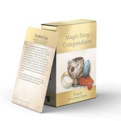 MAGIC ITEMS COMPENDIUM -  RINGS & WONDROUS ITEMS (ANGLAIS)