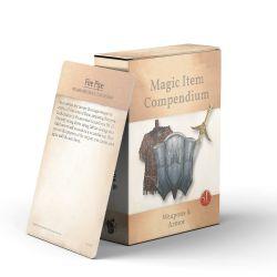 MAGIC ITEMS COMPENDIUM -  WEAPONS & ARMOR (ANGLAIS)