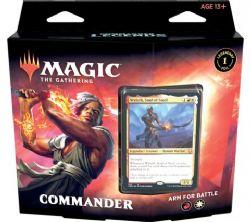 MAGIC THE GATHERING -  ARM FOR BATTLE - COMMANDER DECK (ANGLAIS) -  COMMANDER LEGENDS