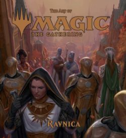 MAGIC: THE GATHERING -  ART BOOK - RAVNICA (V.O.A.) -  TOUT L'ART DE MAGIC THE GATHERING