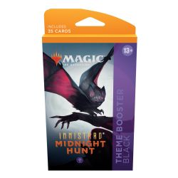 MAGIC THE GATHERING -  BLACK THEME BOOSTER (ANGLAIS) (35) -  INNISTRAD MIDNIGHT HUNT