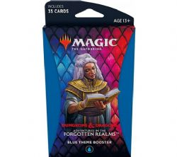 MAGIC THE GATHERING -  BLUE THEME BOOSTER (ANGLAIS) (35) -  ADVENTURES IN THE FORGOTTEN REALMS