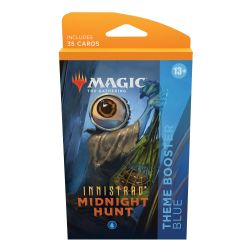 MAGIC THE GATHERING -  BLUE THEME BOOSTER (ANGLAIS) (35) -  INNISTRAD MIDNIGHT HUNT