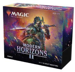 MAGIC THE GATHERING -  BUNDLE - 10 DRAFT BOOSTER PACK (ANGLAIS) -  MODERN HORIZONS II
