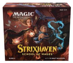 MAGIC THE GATHERING -  BUNDLE - 10 DRAFT BOOSTER PACK (ANGLAIS) -  STRIXHAVEN SCHOOL OF MAGES