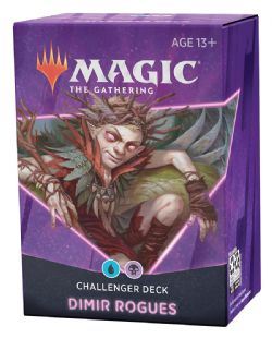 MAGIC THE GATHERING -  DIMIR ROGUES (ANGLAIS) -  CHALLENGER DECKS 2021