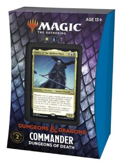 MAGIC THE GATHERING -  DUNGEONS OF DEATH - COMMANDER DECK (ANGLAIS) -  ADVENTURES IN THE FORGOTTEN REALMS
