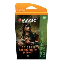 MAGIC THE GATHERING -  GREEN THEME BOOSTER (ANGLAIS) (35) -  INNISTRAD MIDNIGHT HUNT